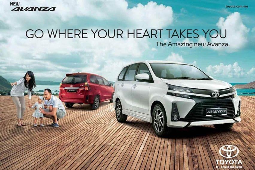 Toyota Avanza di Malaysia Punya Fitur Lebih Canggih