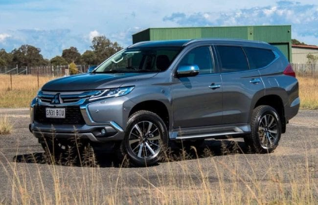 An updated Mitsubishi Montero Sport in the pipeline?