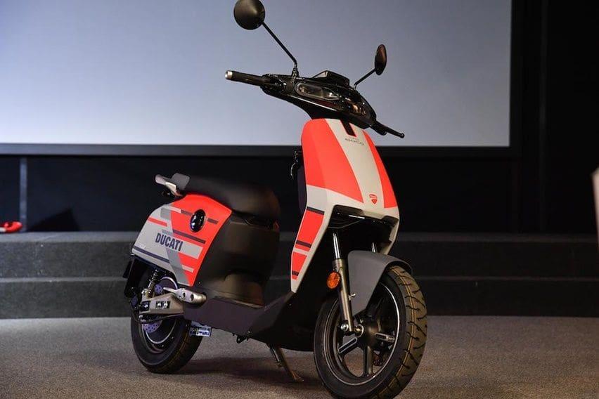 CUx, Skuter Listrik Mungil Ducati Berbanderol Rp 37 Juta!