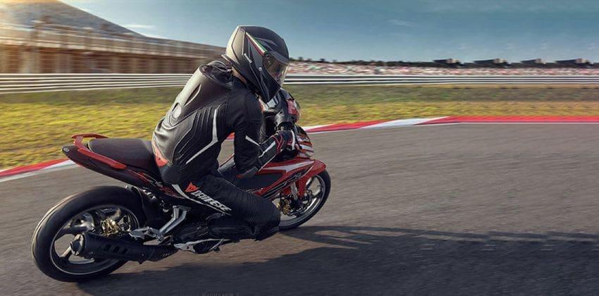 Yamaha 135LC Super Sport rear