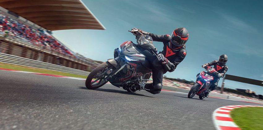Yamaha 135LC Super Sport  ride