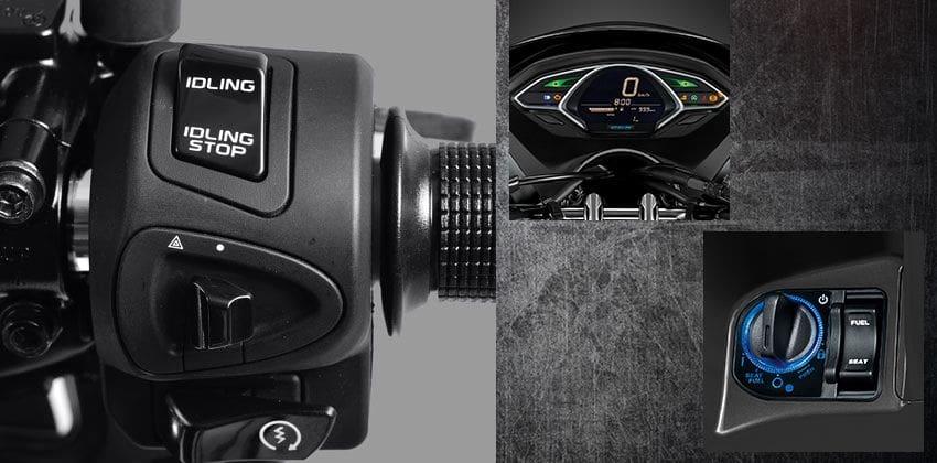 Honda PCX150 Features 3