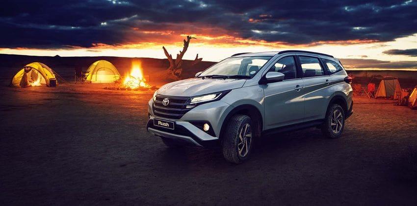 2019 Toyota Rush exterior