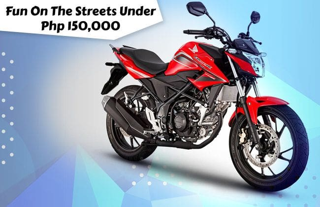 Fun on the streets under Php 150,000