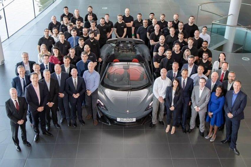 McLaren 600LT Spider Menandai Produksi Mobil yang ke-20.000