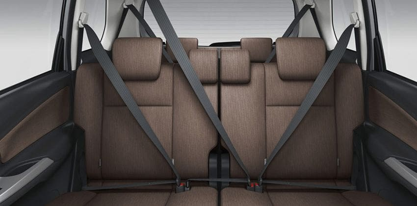 2019 Toyota Avanza Seating