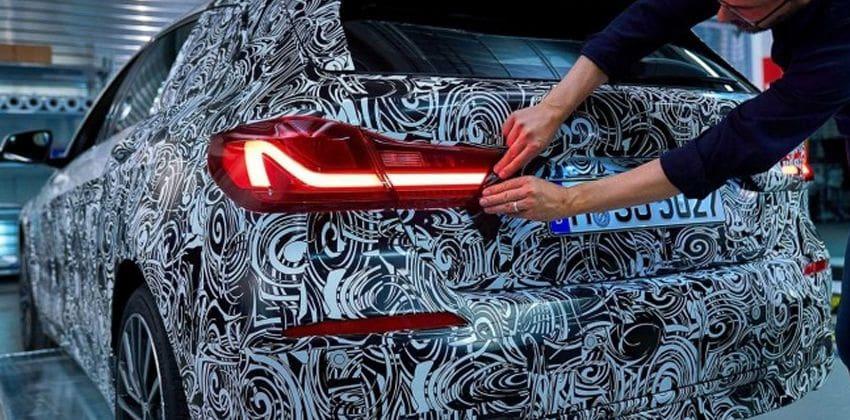 2020 BMW 1-Series rear