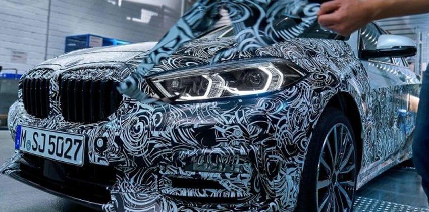 2020 BMW 1-Series headlight