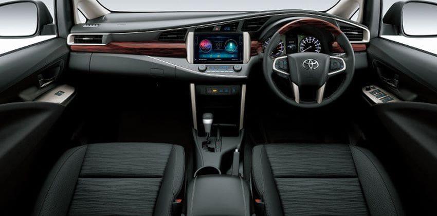New Toyota Innova dashboard