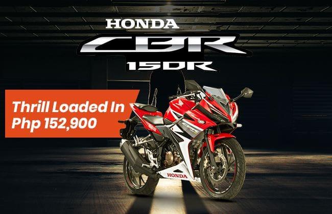 Honda CBR150R: Thrill loaded in Php 152,900