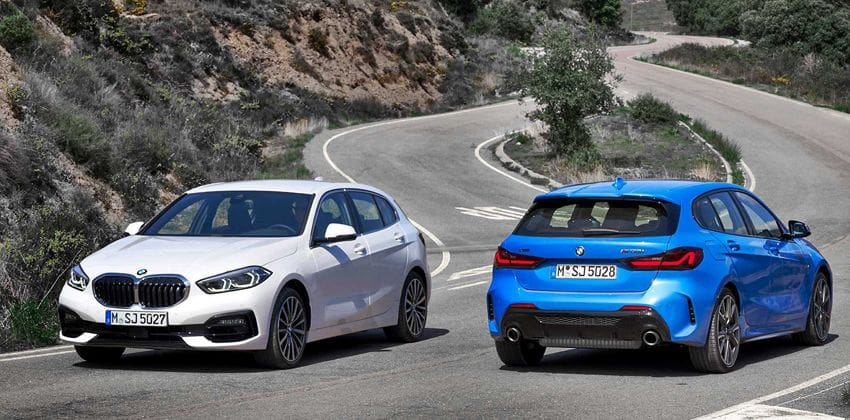 new BMW 1 Series front & rear
