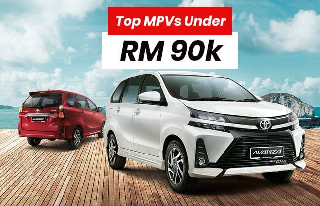 Top MPVs to buy under RM 90k
