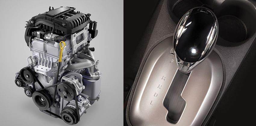 Chevrolet Spark Engine & Gear Knob