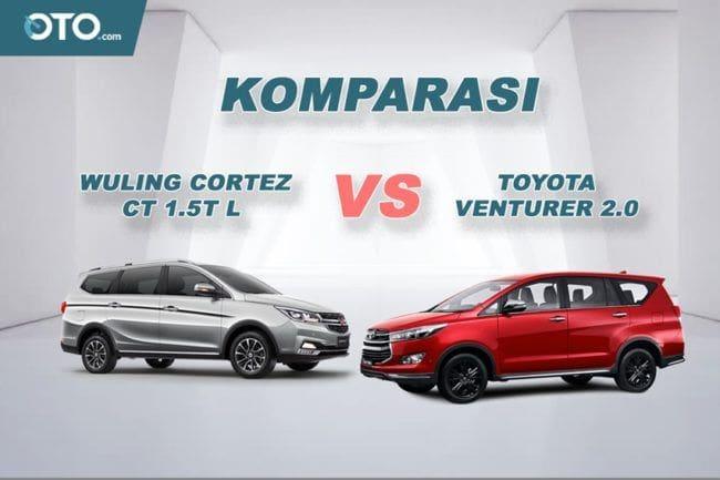 Komparasi Wuling Cortez CT vs Toyota Venturer