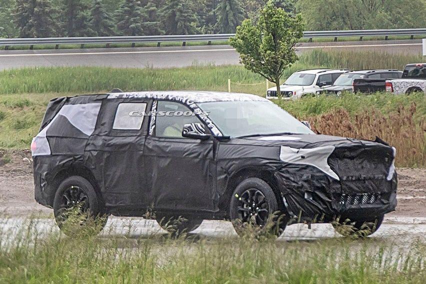 Tertangkap Kamera Pakai Kamuflase, Jeep Grand Cherokee Diubah Total