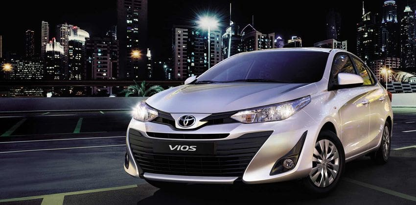Toyota Vios Front Angular