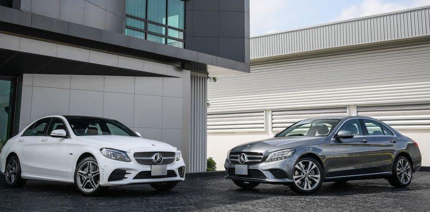 Mercedes-Bez C300e PHEV