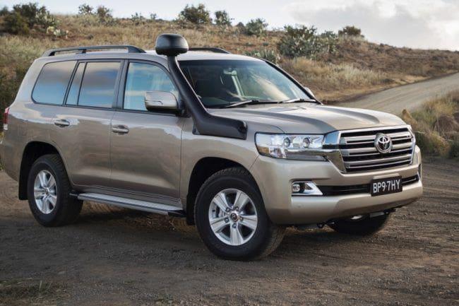 Toyota Land Cruiser Generasi Baru Bermesin Hybrid