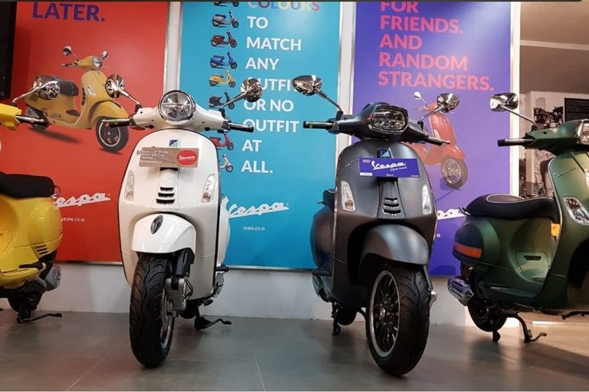 Ini Model Vespa Paling Laris di Indonesia