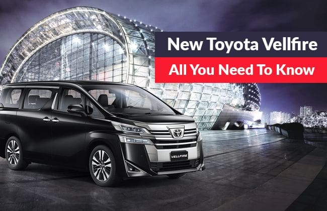 Toyota Vellfire - All you need to know