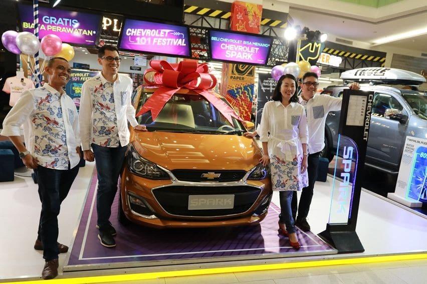 Absen di GIIAS 2019, Chevrolet Gelar Pameran Sendiri di 101 Lokasi