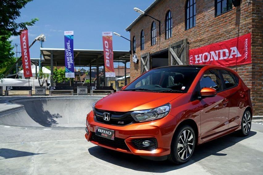 Pasar Naik Tipis, Honda Brio Jadi Model Paling Laris