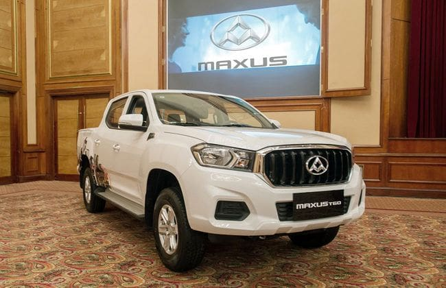 Maxus T60 now available in Malaysia; first batch from China