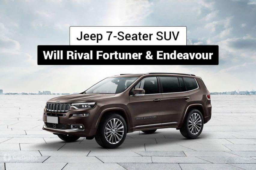 Jeep Siapkan Penantang Fortuner dan Pajero Sport, Dibanderol Selevel?
