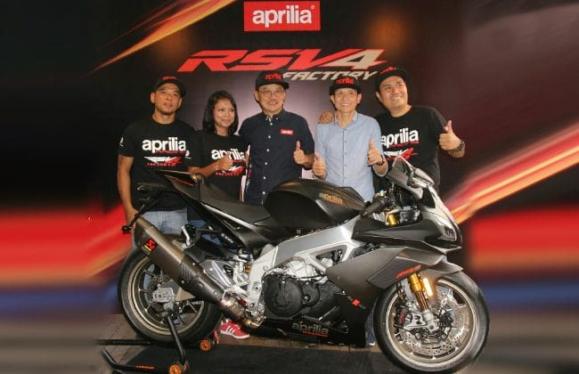 All-new Aprilia RSV4 1100 Factory launched in Malaysia