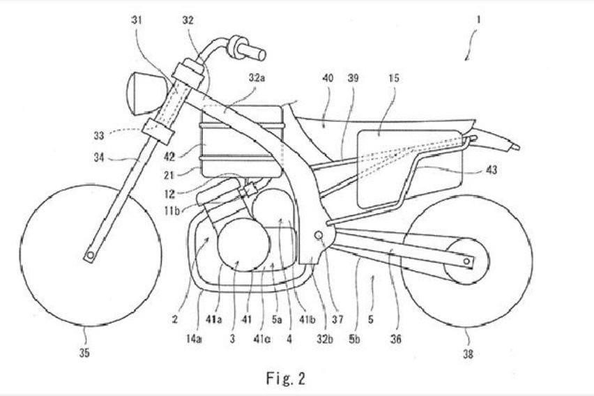 Kawasaki Ajukan Hak Paten Sepeda Motor Hybrid