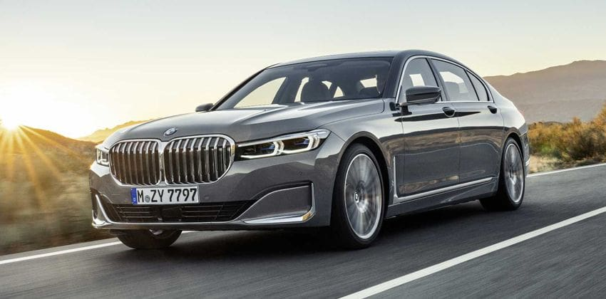 BMW 7 Series facelift LAUNCH