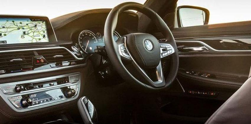 BMW 7 Series facelift interior