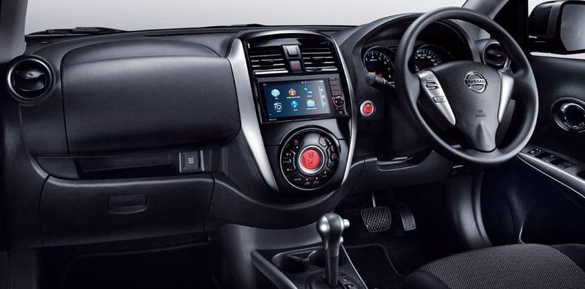 Nissan Almera cabin
