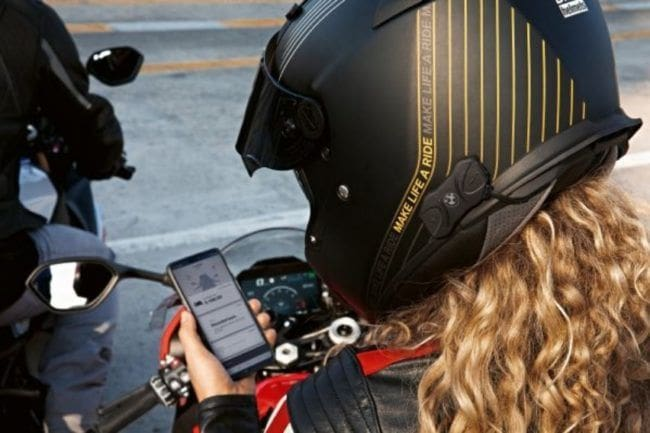 Intercom BMW Motorrad, Ergonomis dan Praktis