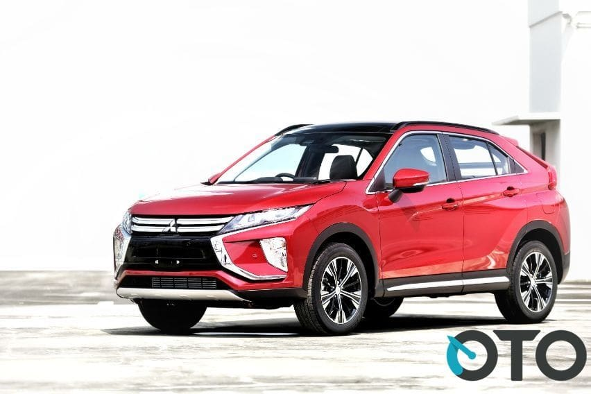 Mitsubishi Eclipse Cross berbekal mesin turbo