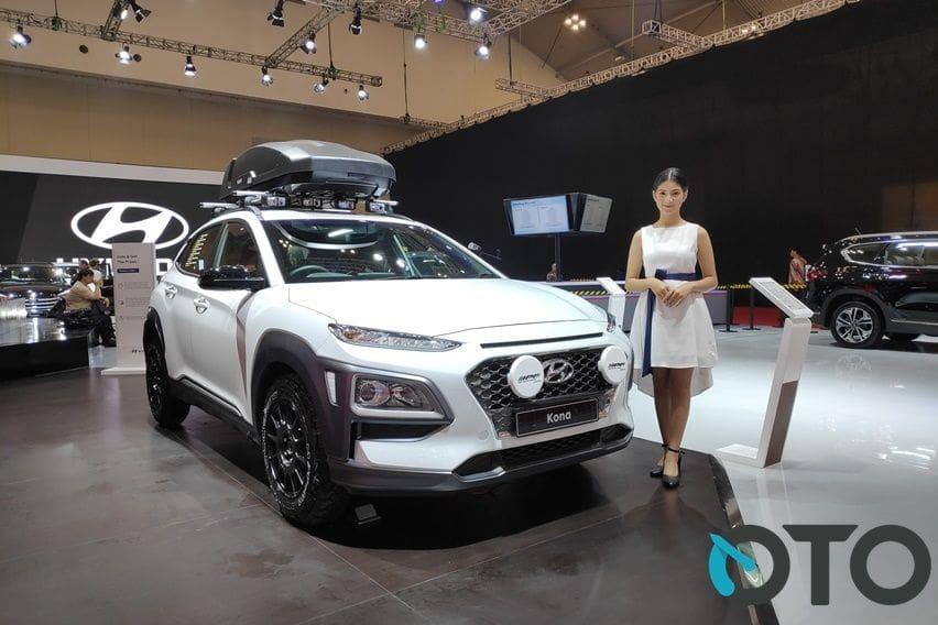 GIIAS 2019: Hyundai Kona Tampil Sangar Bergaya Rally