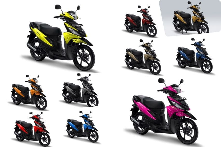 GIIAS 2019: 10 Warna Baru Suzuki Address Meriahkan Pameran