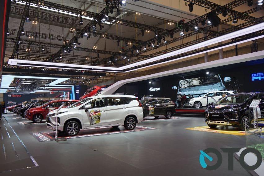 Mitsubishi Motors Raih SPK 4.909 Unit di GIIAS 2019, Xpander Paling Diminati