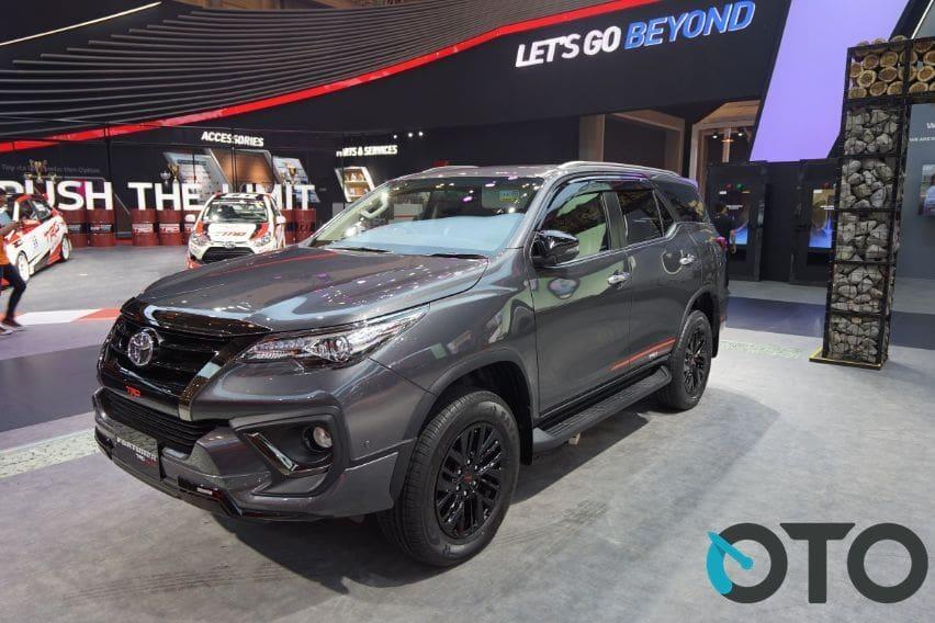 Fortuner masuk lima besar penjualan Toyota 2019