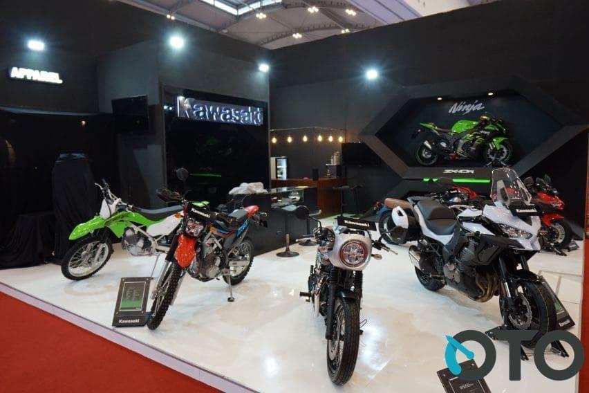 GIIAS 2019: Kawasaki Pamerkan Tiga Motor Baru