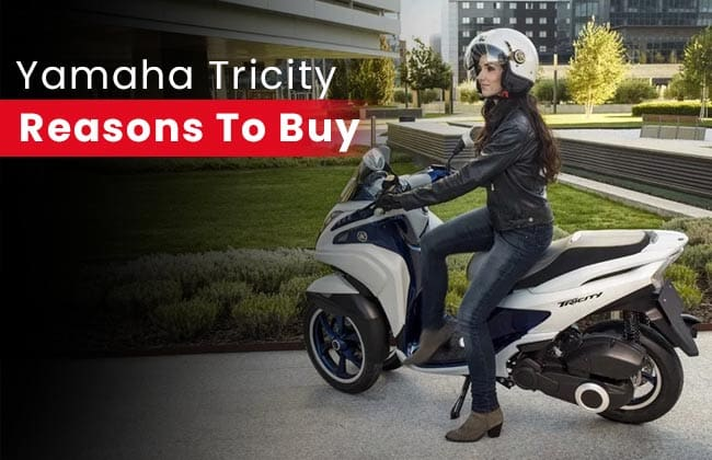 Yamaha Tricity: Reasons to buy