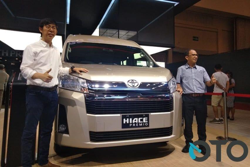 GIIAS 2019: Bukan Cuma Pajangan, Toyota HiAce Premio Akhirnya Resmi Dijual