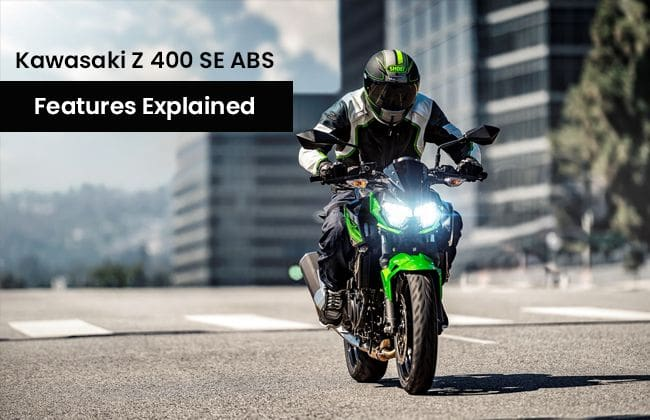 Kawasaki Z 400 SE ABS - Features explained