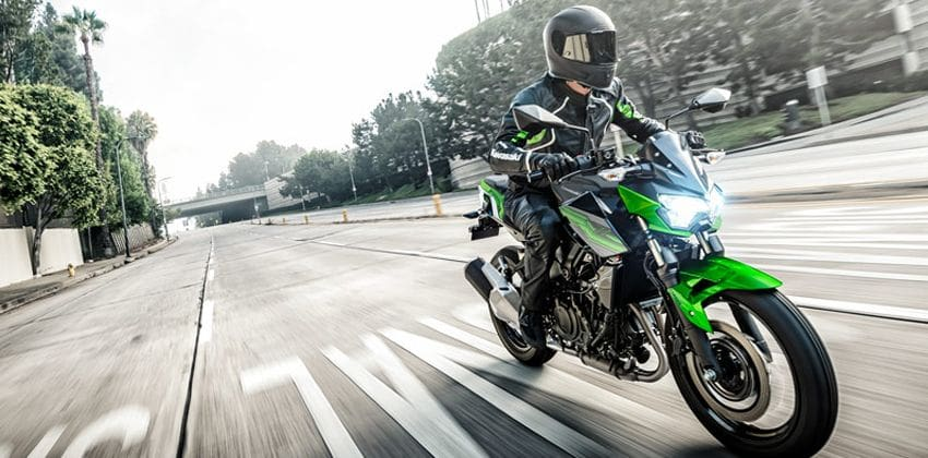 Kawasaki Z250 ABS performance