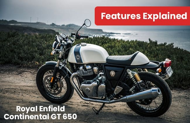 Royal Enfield Continental GT 650 - Features explained