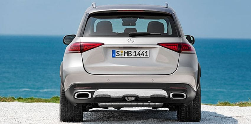 2020 Mercedes-Benz GLE rear