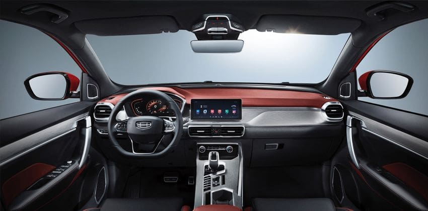 2020 Geely Coolray Cabin