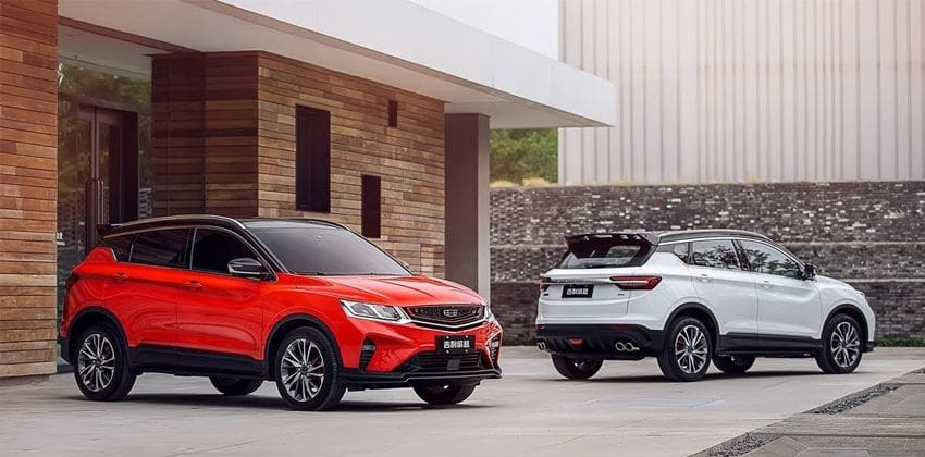 2020 Geely Coolray
