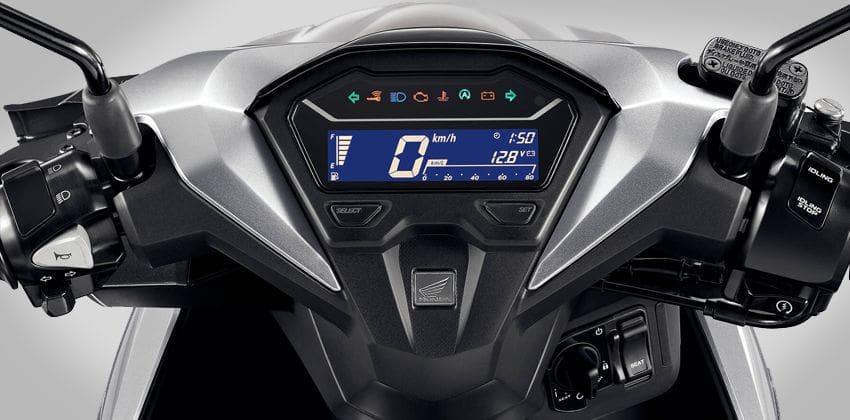 Honda Click 150i digital panel