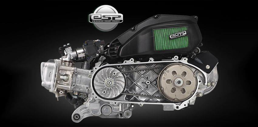 Honda Click 150i engine